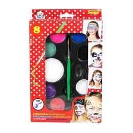 Ansiktsfärg för barn, komplett set