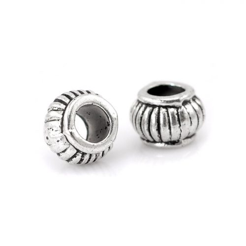 Metallpärlor antik silver