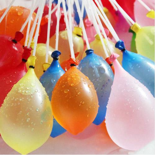 Vattenballonger med snabbfyllningsanordning