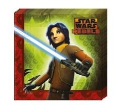 Servetter med Star Wars Rebels motiv