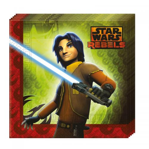Servetter med Star Wars Rebels motiv