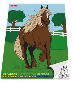 Målarbok Hästar