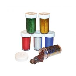 Glitterströssel 6 st 20 gram från Playbox