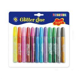 Glitterlim från Playbox - 12 pack