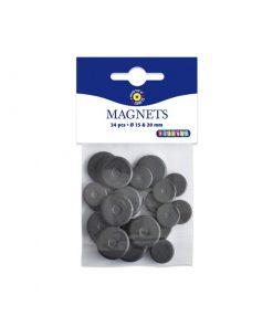 Magneter 24 pack - 15 mm & 20 mm