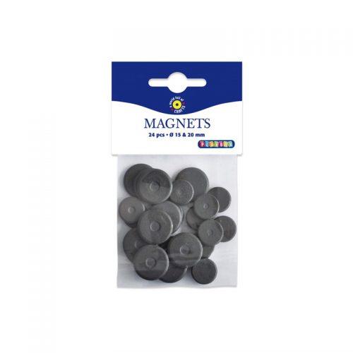 24 stycken magneter till Hobby och DIY