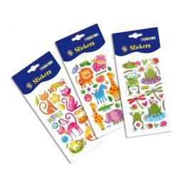 Puffy klistermärken / stickers - fdjur