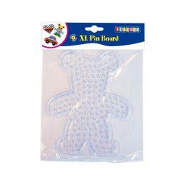 XL platta till XL pärlor - björn
