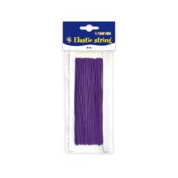 25 meter elastisk tråd - lila