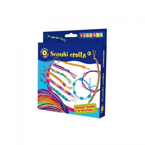Pysselset scoubi crafts - Pysselset från Playbox