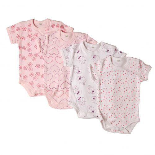 4-pack rosa bodies