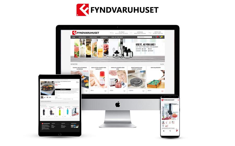 Fyndvaruhuset U2013 Handla Billiga Saker På Nätet Och Fynda