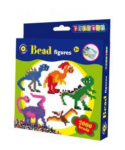Pärlset med dinosaurier - Pyssel från Playbox