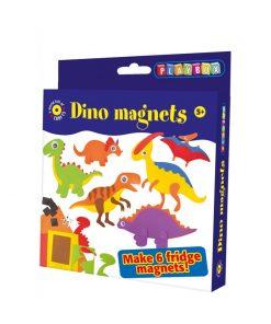 Pysselset - Kylskåpsmagneter dinosaurier