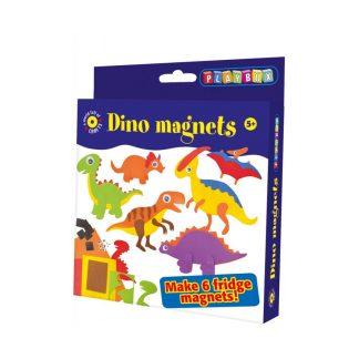 Pyssel för barn - kylskåpsmagneter dinosaurier