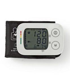 Blodtrycksmätare för handled | LCD | Tid och datum