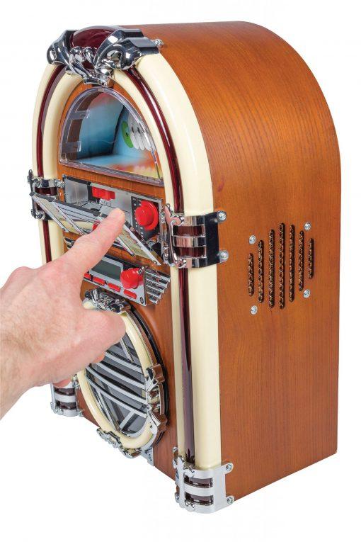 Tabell Radio Jukebox FM / AM CD Brun