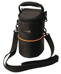 Kamera Objektivväska 90 x 150 x 70 mm Svart/Orange