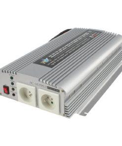 Strömomvandlare Modifierad Sinusvåg 24 VDC - AC 230 V 1000 W F (CEE 7/3)