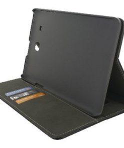 Tablett Premium Foliefodral Samsung Galaxy Tab E 9.6 Svart