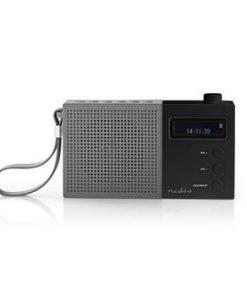 Digital DAB+-radio | 4.5 W | FM | Klocka och alarm | Grå/svart