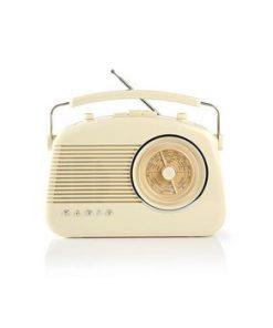 FM-radio | 5.4 W | Bluetooth® | Bärhandtag | Beige