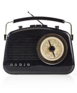 FM-radio | 5.4 W | Bluetooth® | Bärhandtag | Svart