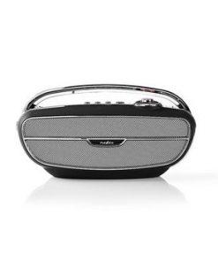 FM-radio | 60 W | Bluetooth® | Svart/silver