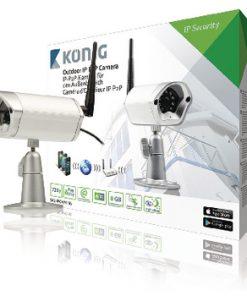 HD Fast IP-kamera Utomhus 720P Metall