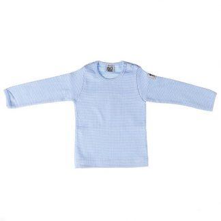 Barntröja - vit och blå randig från Pippi