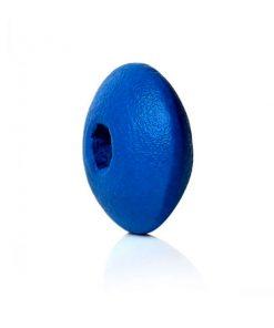 Träpärlor 10 mm - Blå