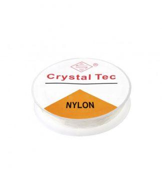 Elastisk nylontråd 1 mm transparent