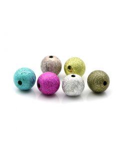 Stardust pärlor i blandade färger - 8 mm 100 st