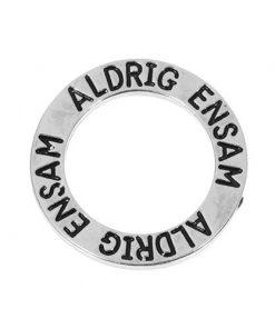 Budskapsring - ALDRIG ENSAM