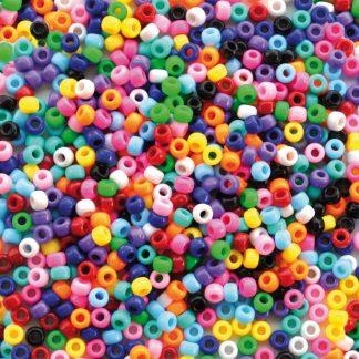 Kongopärlor 1000 stycken 9 mm