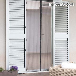 Myggnät med magnet för hem och trädgård - Svart