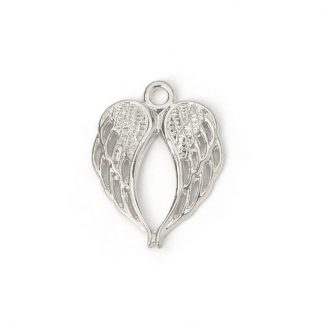 Hänge - vingar - silver pläterad