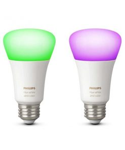 Philips Hue White & Color RGB 2 stk E27