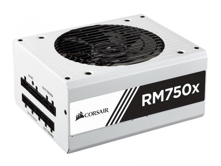 Corsair RM750x, 750W Hvit PSU