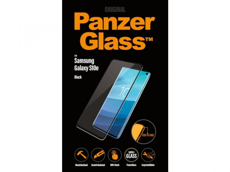 Galaxy S10e skärmskydd, Glas