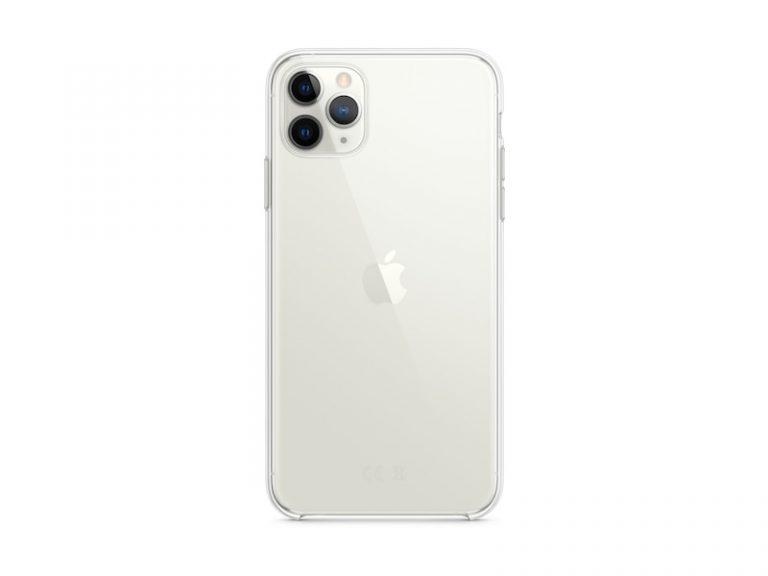 Apple Clear-fodral, Klar