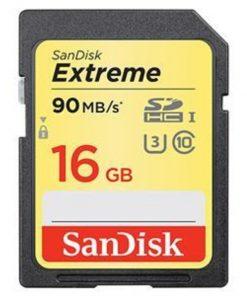 Sandisk Secure Digital Extreme 16GB