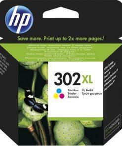 HP Bläck 302XL Tricolor