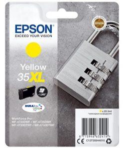 Epson Bläck 35XL Gul