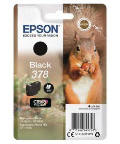 Epson Bläck 378, svart