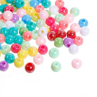 6 mm pastellfärgade pärlor