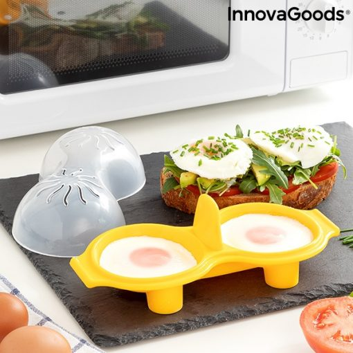 Äggkokare i Silikon för Mikro eller ugn