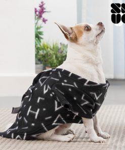 Hundtäcke - Hundfilt med ärmar i mjukt tyg