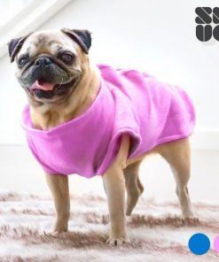 Hundtäcke med ärmar - Rosa