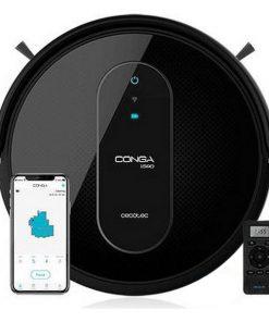Robotdammsugare Cecotec Conga 1590 Active 1400 Pa WiFi Svart